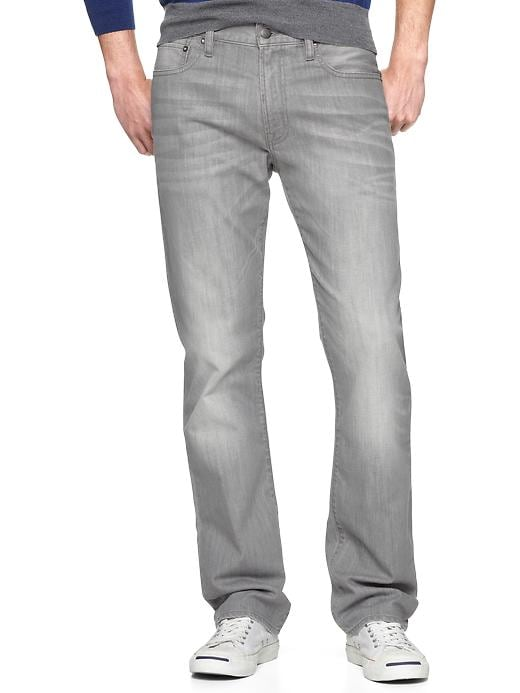 Gap 1969 Straight Fit Jeans (Silver Wash) - Silverstrand - Gap Canada