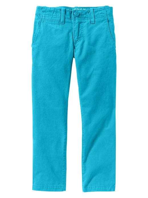 Gap Straight Fit Colored Khakis - Bright patina