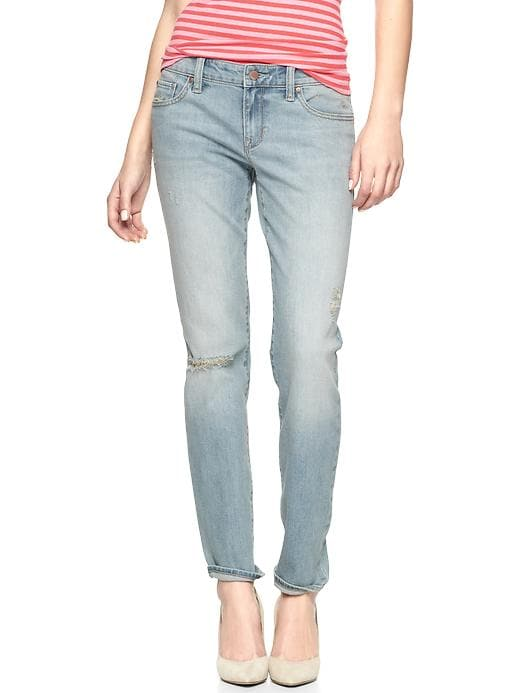 Gap 1969 Destructed Always Skinny Skimmer Jeans - Destructed bleach - Gap Canada