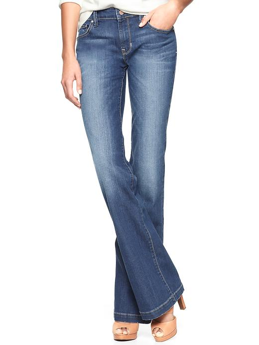 Gap 1969 Long & Lean Jeans - Medium wash - Gap Canada