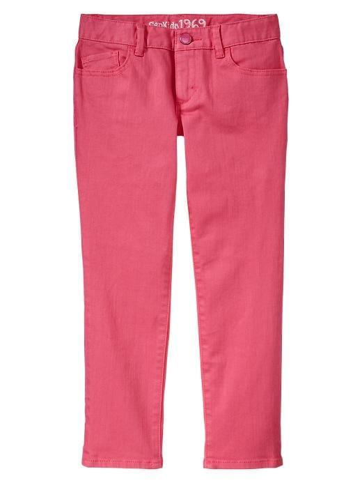 Gap Super Skinny Colored Skimmer Jeans - Sugar coral