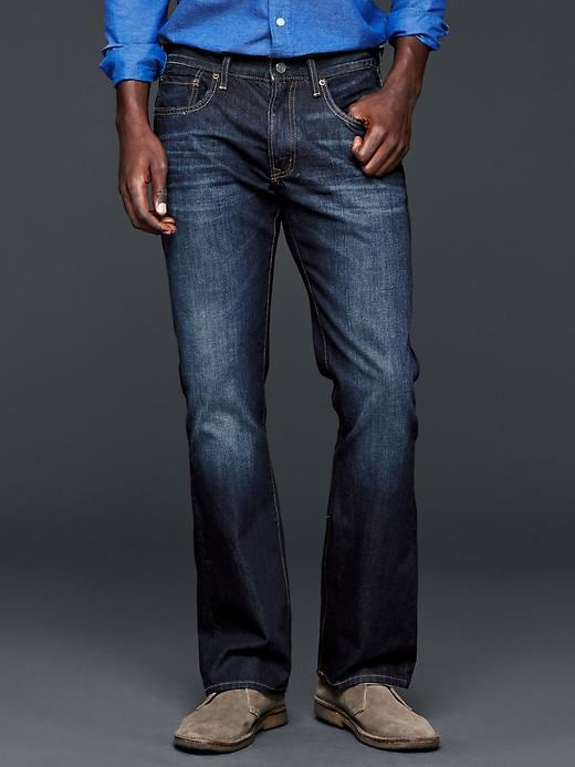 Gap 1969 Boot Fit Jeans (Rockaway Wash) - Rockaway - Gap Canada