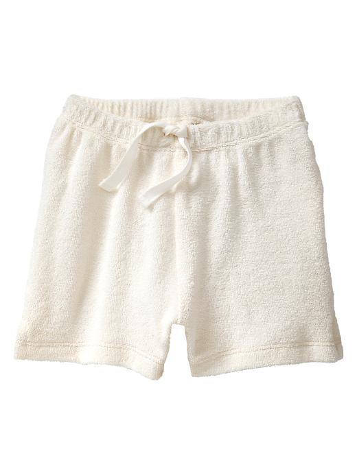 Gap Organic Terry Shorts - Ivory frost - Gap Canada