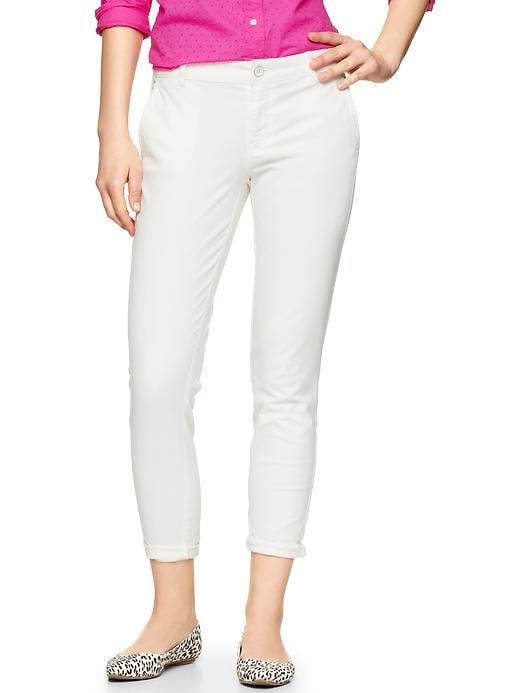 Gap Skinny Mini Skimmer Khakis - Off white - Gap Canada