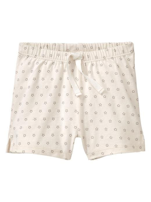 Gap Organic Printed Shorts - Gray - Gap Canada