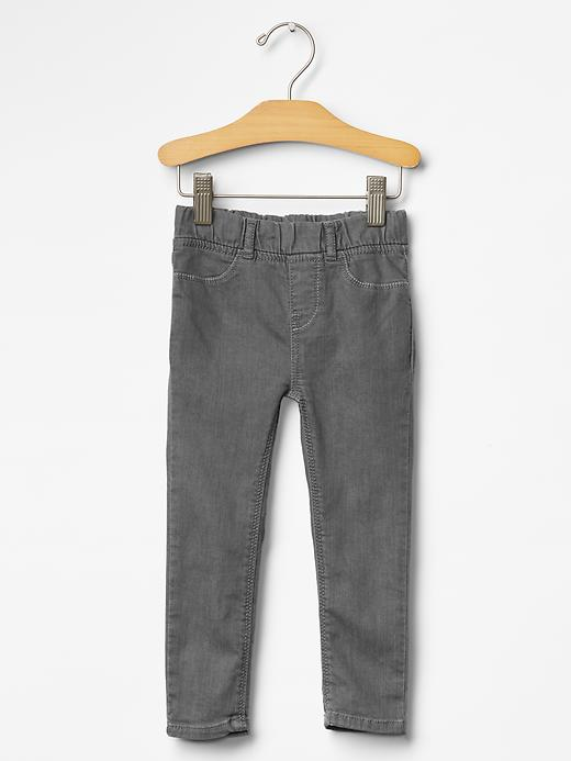 Gap Denim Legging Jeans (Gray Wash) - Grey denim - Gap Canada