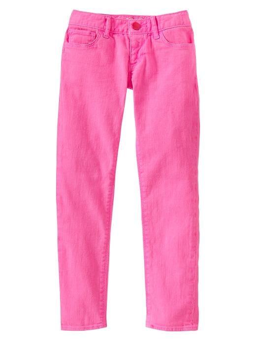 Gap Super Skinny Pastel Colored Jeans - Neon phoebe pink - Gap Canada