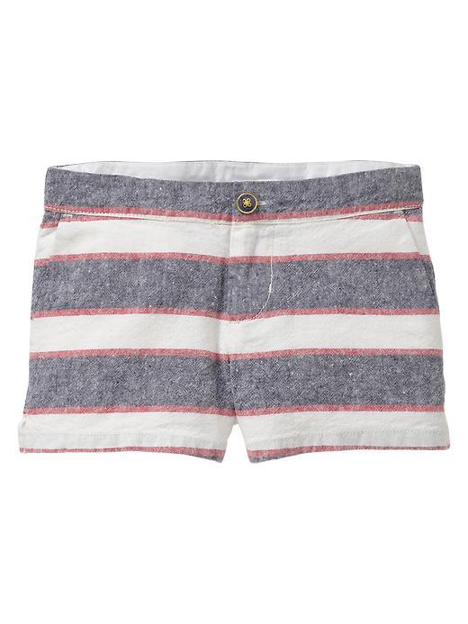 Gap Nautical Striped Shorts - Nautical stripe
