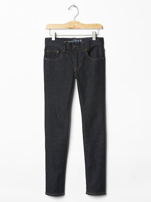 Gap Skinny Jeans (Darker Wash) - Denim
