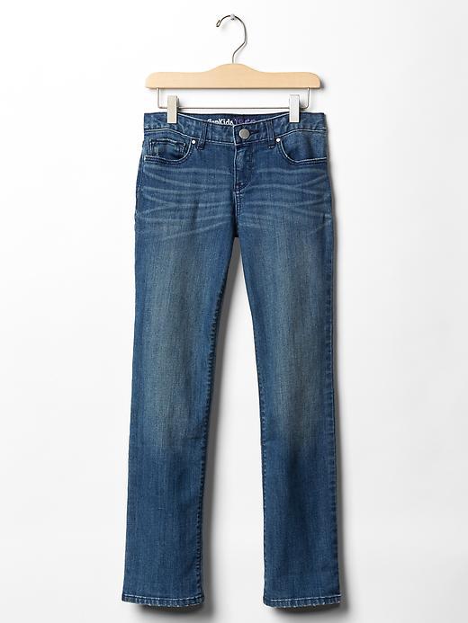 Gap Straight Jeans (Light Medium Wash) - Denim - Gap Canada