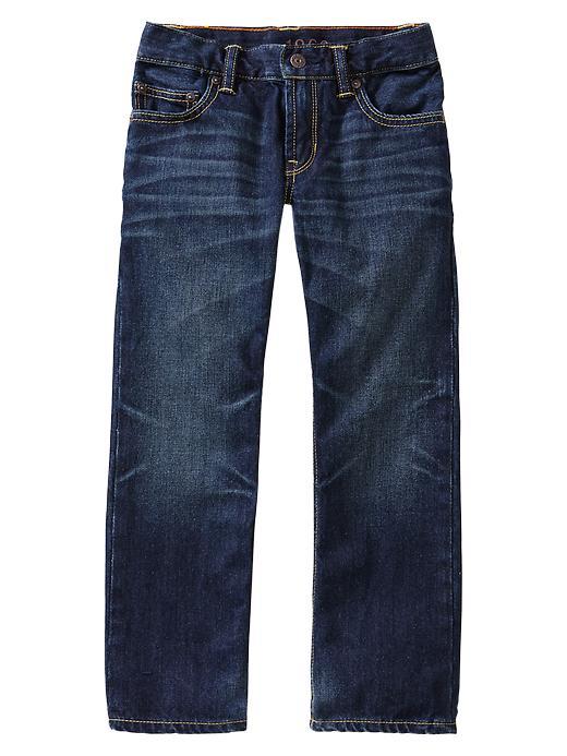 Gap Original Fit Jeans (Medium Wash With Whiskers) - Denim - Gap Canada