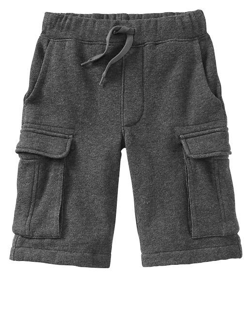 Gap Uniform Cargo Gym Shorts - Charcoal heather - Gap Canada