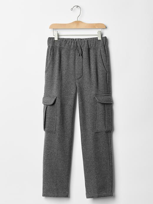 Gap Uniform Cargo Gym Pants - Charcoal heather - Gap Canada