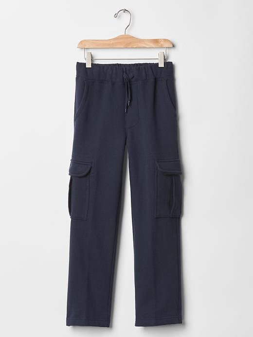 Gap Uniform Cargo Gym Pants - Blue galaxy - Gap Canada