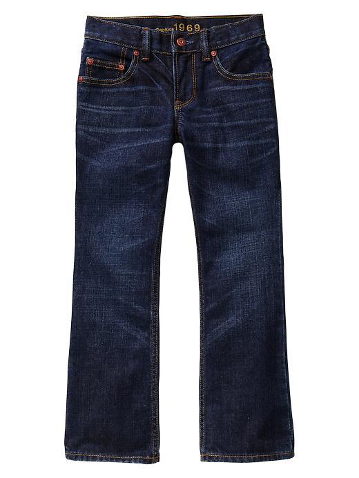 Gap Boot Jeans (Dark Indigo Wash) - Denim - Gap Canada