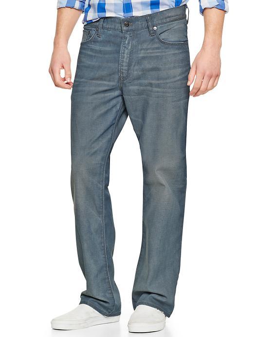 Gap 1969 Standard Fit Jeans (Grey Blue Wash) - Blackshear - Gap Canada