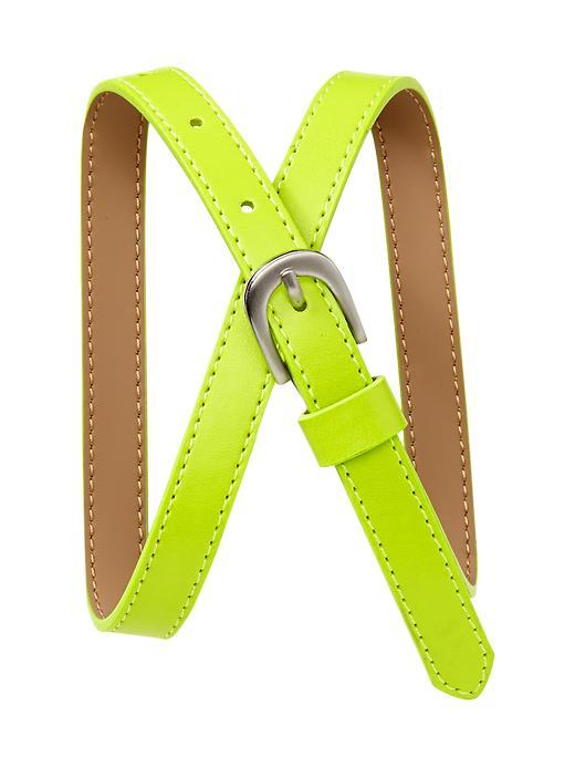 Gap Uniform Neon Belt - Lime punch - Gap Canada