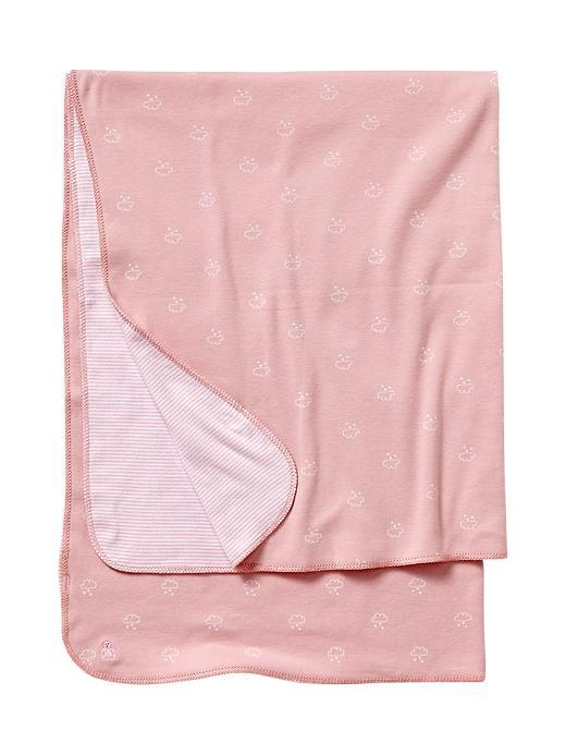 Gap Favorite Reversible Cloud Baby Blanket - Pure pink - Gap Canada