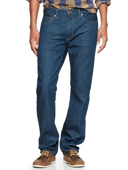 Gap 1969 Straight Fit Jeans (Alamo Wash) - Alamo - Gap Canada