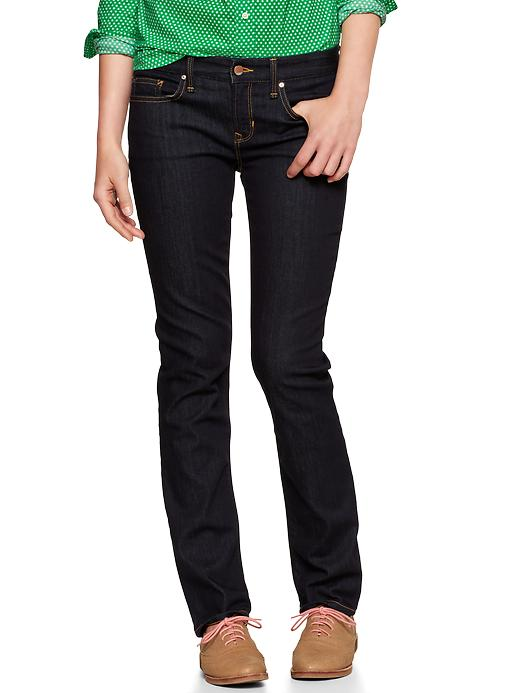 Gap 1969 Real Straight Jeans - Rinse - Gap Canada