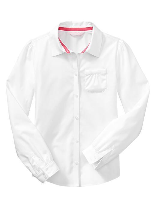 Gap Uniform Non Iron Shirt - White - Gap Canada