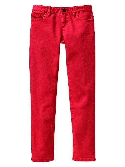 Gap 1969 Bright Super Skinny Jeans - Red wagon - Gap Canada