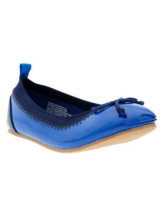 Gap Bow Ballet Flats - Active blue - Gap Canada