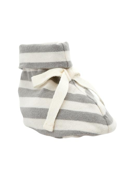 Gap Organic Striped Booties - Oxide grey - Gap Canada