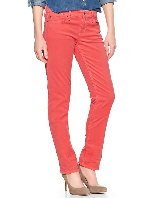 Gap 1969 Real Straight Cords - Pink reef - Gap Canada