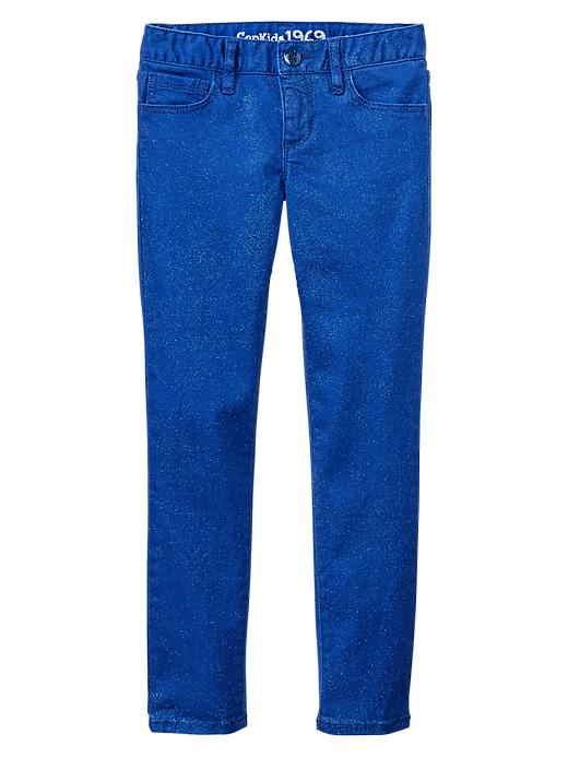 Gap 1969 Glitter Super Skinny Jeans - Active blue - Gap Canada