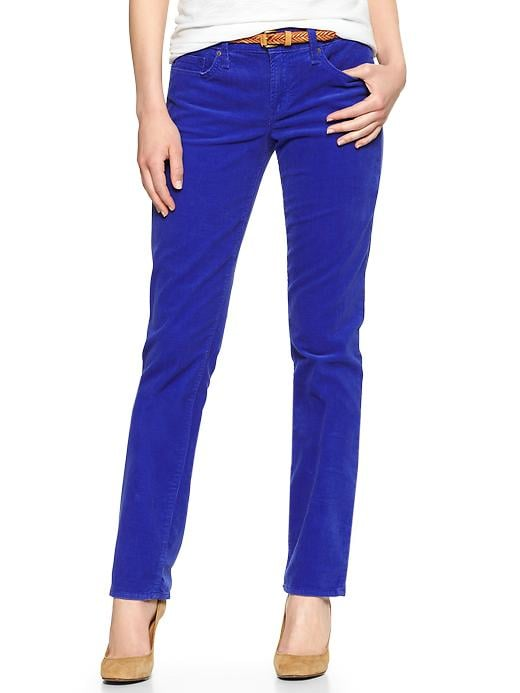 Gap 1969 Real Straight Cords - Powerful blue - Gap Canada
