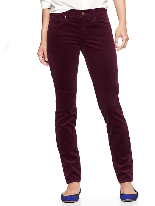 Gap 1969 Legging Cords - Ruby wine - Gap Canada