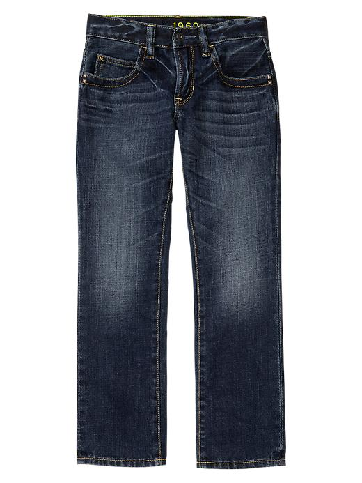 Gap 1969 Straight Jeans (Green Fill) - Denim - Gap Canada