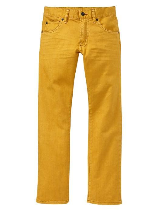 Gap 1969 Gold Straight Jeans - Gold plate - Gap Canada