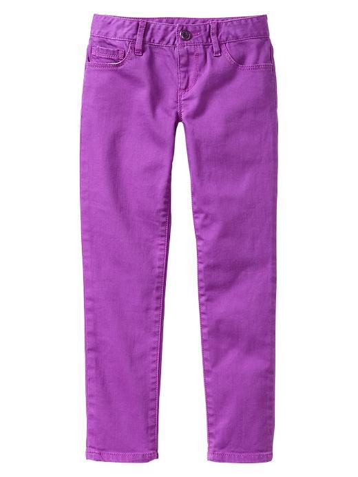 Gap 1969 Bright Super Skinny Jeans - Purple flower - Gap Canada