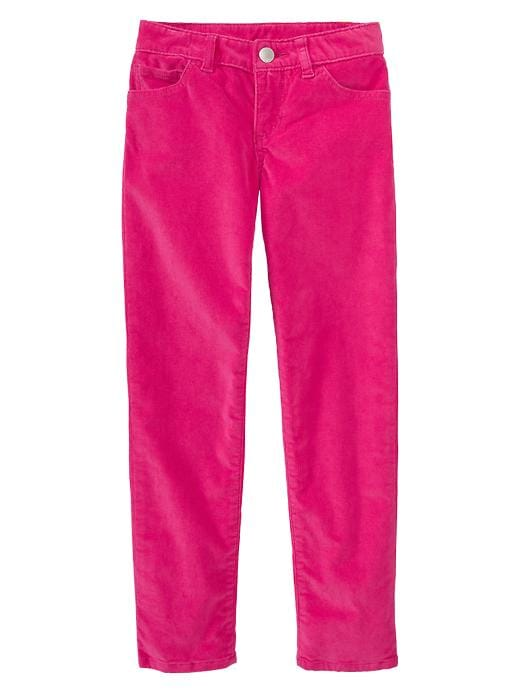 Gap Super Skinny Corduroy Pants - Bright claret, Brand Name ...