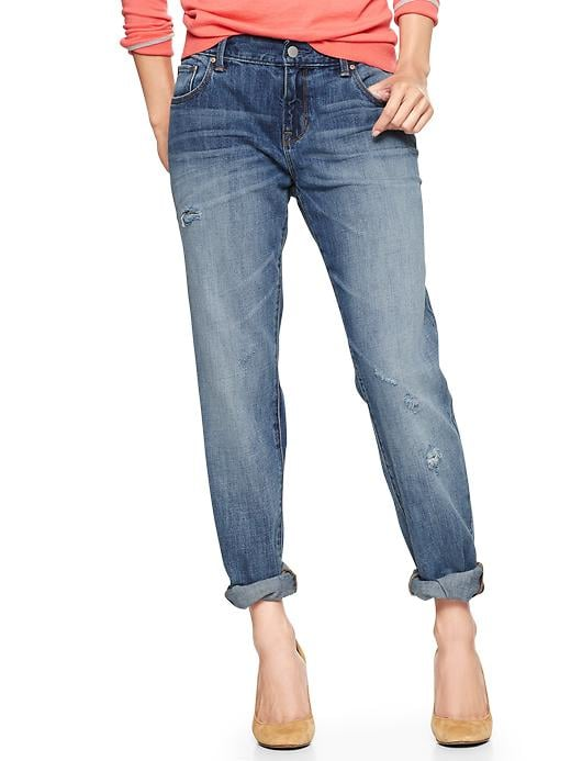 Gap 1969 Destructed Sexy Boyfriend Jeans - Betty - Gap Canada
