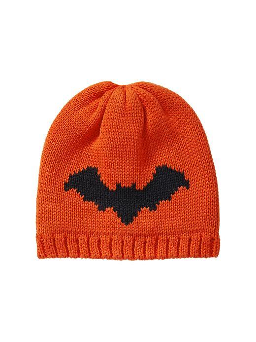 Gap Intarsia Bat Hat - Orange pop - Gap Canada
