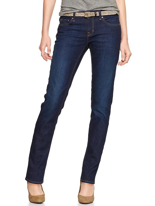 Gap 1969 Real Straight Jeans - Dark wash - Gap Canada
