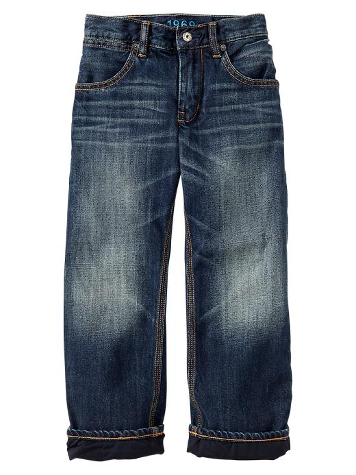 Gap 1969 Performance Lined Slouch Jeans - Denim - Gap Canada