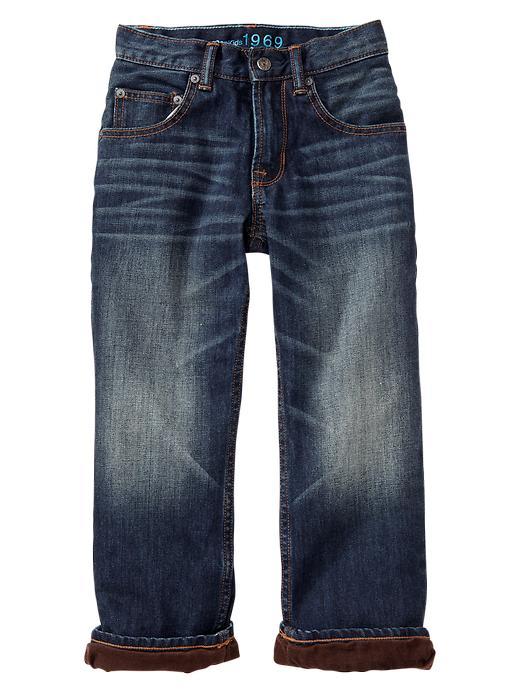 Gap 1969 Corduroy Lined Slouch Jeans - Denim - Gap Canada