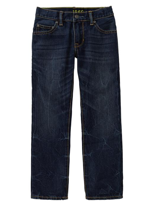 Gap 1969 Straight Jeans (Gray Fill) - Denim - Gap Canada