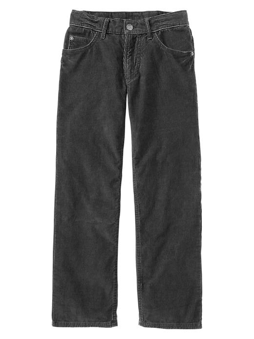 Gap Original Fit Corduroy Pants - Expedition grey, Brand Name ...