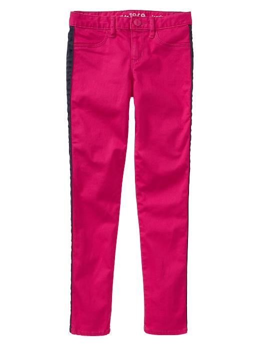 Gap 1969 Pop Stripe Legging Jeans - Bright claret - Gap Canada