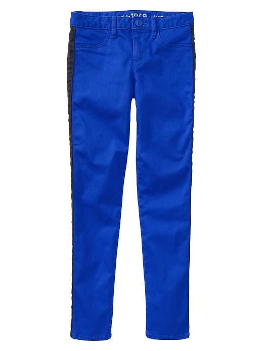 Gap 1969 Pop Stripe Legging Jeans - Active blue - Gap Canada