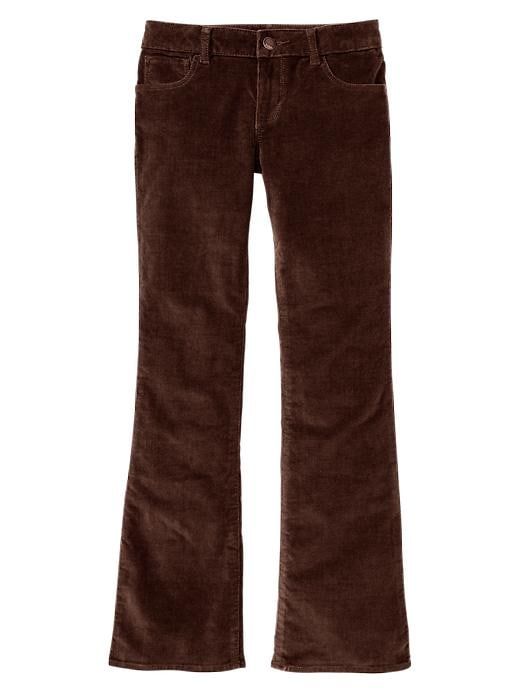 Gap Boot Cut Corduroy Pants - Milk chocolate - Gap Canada