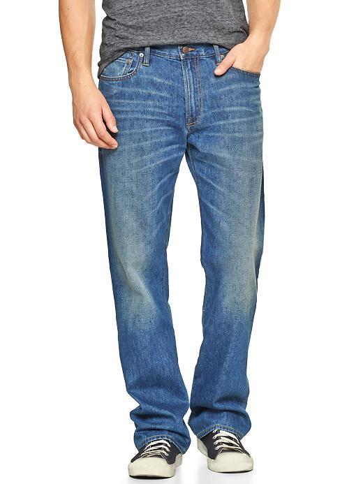 Gap 1969 Standard Fit Jeans (Blue Stone Wash) - Blue stone - Gap Canada