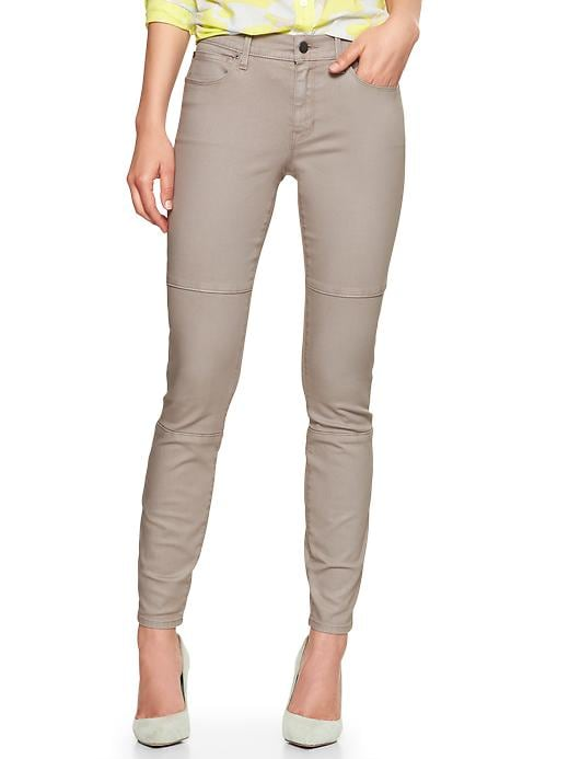 Gap 1969 Coated Biker Legging Jeans - Shark fin - Gap Canada