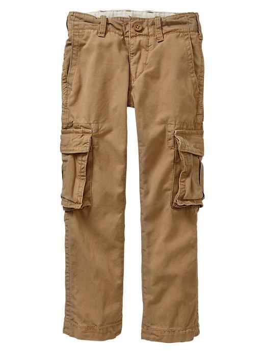 Gap Straight Cargo Pants - Maple sugar - Gap Canada