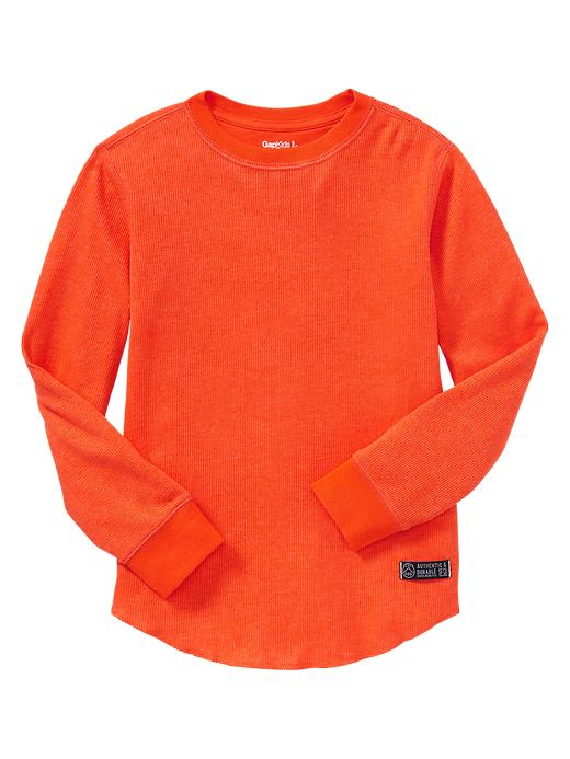 Gap Ribbed T - Lava orange - Gap Canada